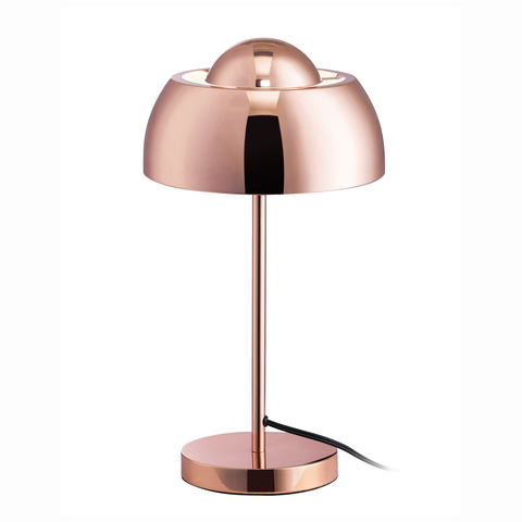 "Euro Style Collection Vienna 17"" Moden Table Lamp-Copper"