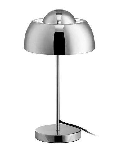 "Euro Style Collection Vienna 17"" Moden Table Lamp-Chrome"