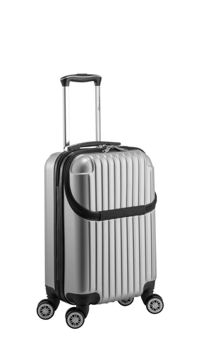 "Euro Style Collection Ibiza 21"" Hardshell Luggage-Silver"