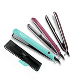 "Xenia Paris Sleek 1"" Professional Hair Straightener (Rubber Touch)-Turquoise"