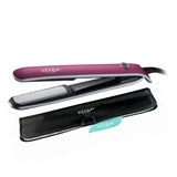 "Xenia Paris Sleek 1"" Professional Hair Straightener (Rubber Touch)-Pink"