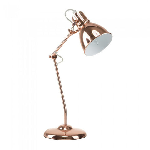 "Euro Style Collection Lyon 18"" Modern Table Lamp-Copper"