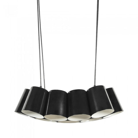 Euro Style Collection Barcelona 13 Light Cluster Ceiling Pendant