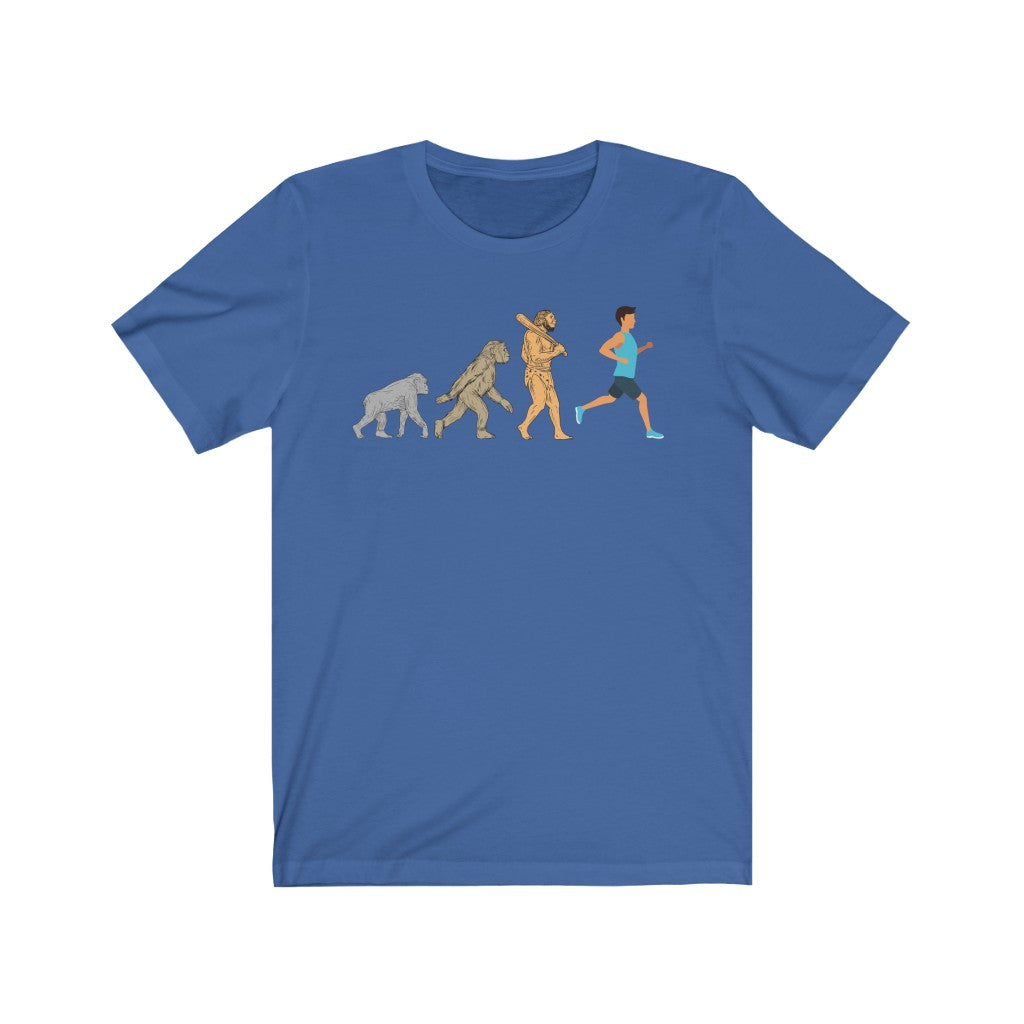 Runners Evolution Unisex Jersey Short Sleeve Tee