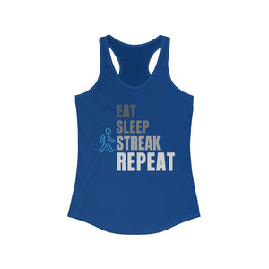 Walk/Jog/Run Streak Women's Racerback Tank