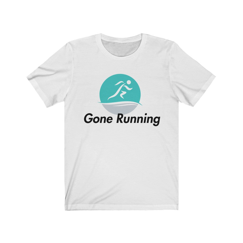 Gone Running Unisex Jersey Short Sleeve Tee