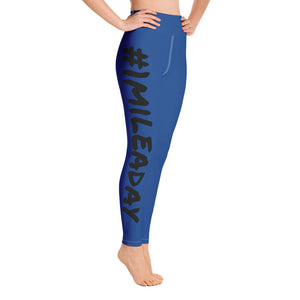 1 Mile A Day Yoga Leggings for Runner, Joggers and People Who Loves to Walk