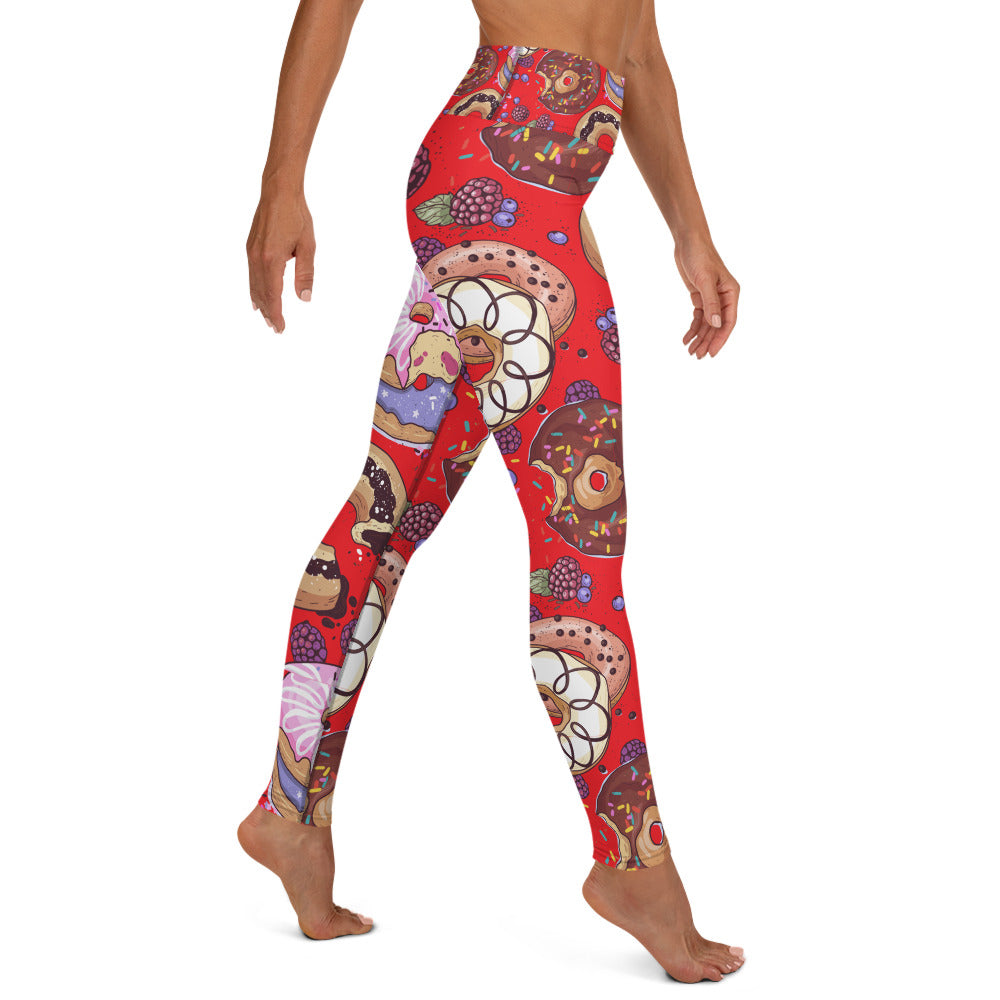 Donut Designed Yoga Leggings