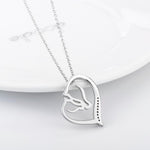 Mother and Child Horse Equestrian Necklace