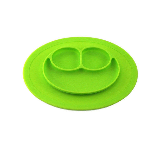 Toddler Food Placemat & Divided Dish Plate