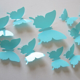 12pc 3D Butterflies DIY Wall Stickers -Giveaway