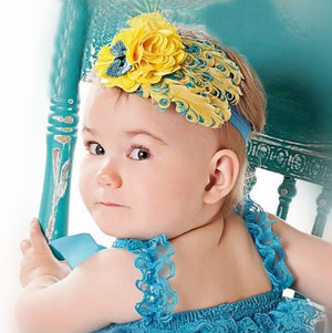 Feather Baby And Toddler Headband