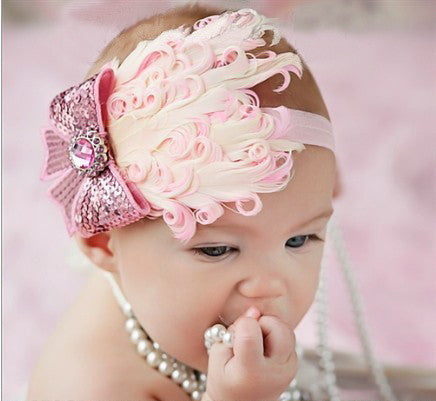 Feather Baby And Toddler Headband - Giveaway