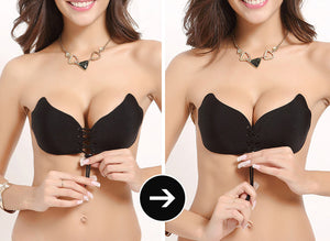 Backless Invisible Push Up Bra