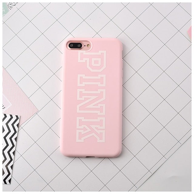 Pink & Lucky 7 iPhone Case - 50% OFF