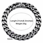 Men's Stainless Steel Chain Bracelet