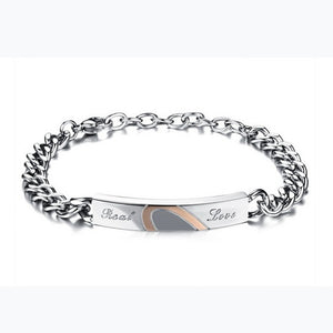 "Heart ""Real Love"" Couples Bracelet -Giveaway"