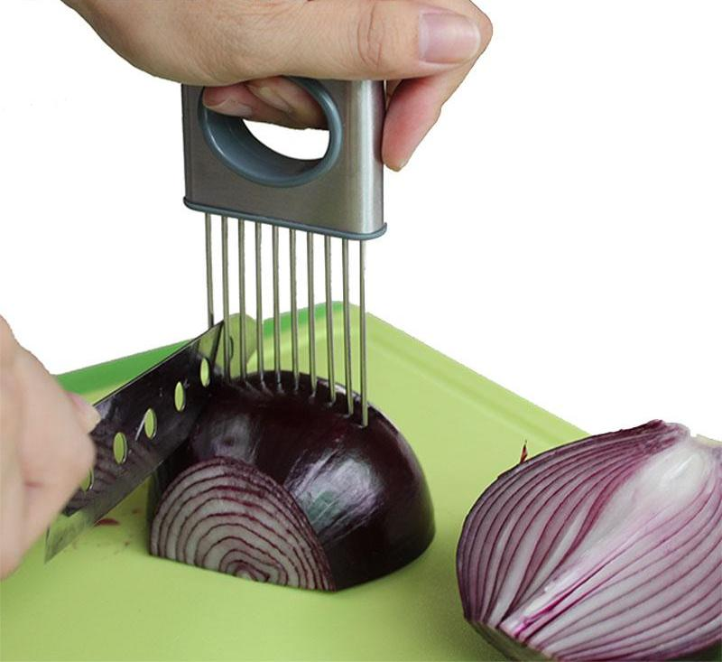 Easy Cut Holder And Meat Tenderizer