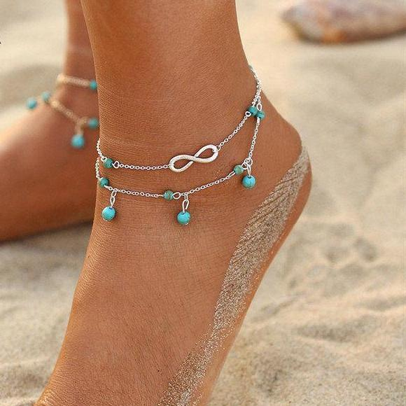 Bohemian Charm Anklets