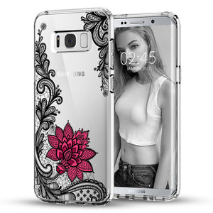 Mandala Flower Samsung Galaxy Phone Case - 50% OFF