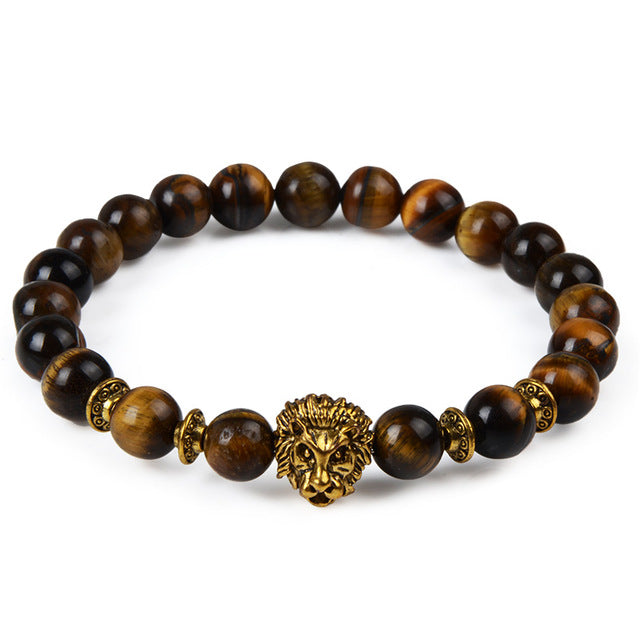 Natural Stone Beads Bracelet -Giveaway