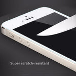 2-Piece Tempered Glass Screen Protector for iPhone