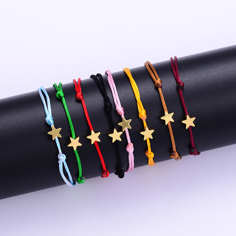 Adjustable String Bracelet