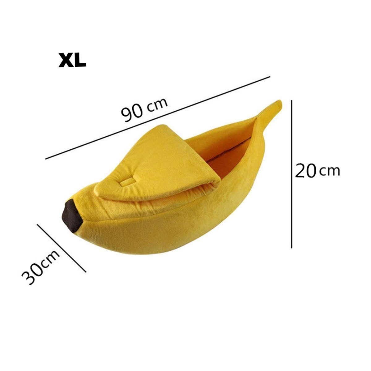 Banana Shape Pet Cat/Dog Bed