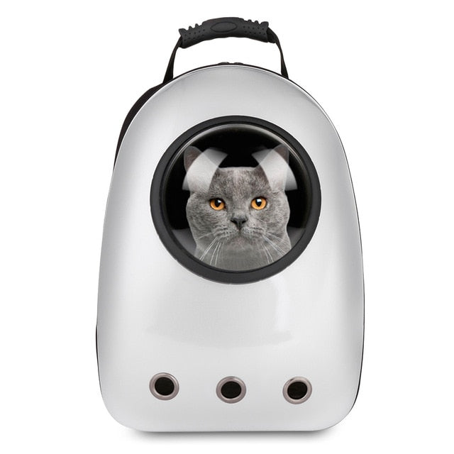 Pet Cat & Dog Portable Capsule Carrier Backpack
