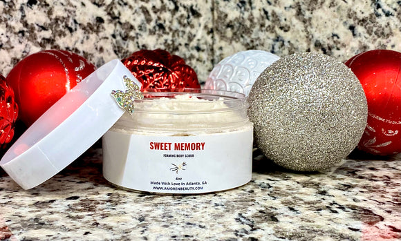 SWEET MEMORY Foaming Body Scrub