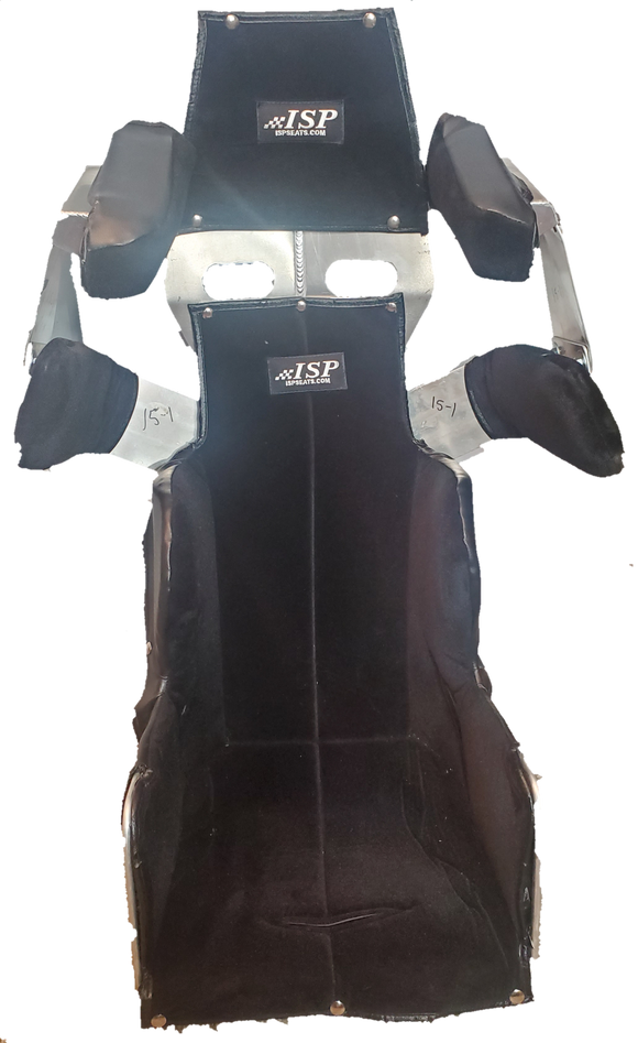 ISP Self Customizable Full Containment Racing Seat - GO Motorsports Shop | Legend Car Parts Store