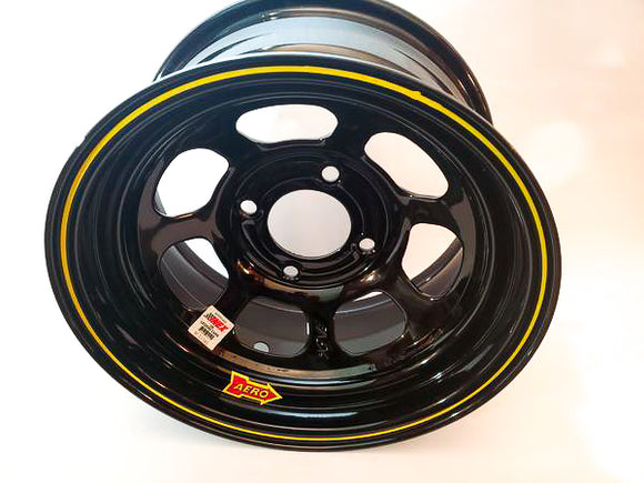 Aero 13lb Inex Wheel Black - GO Motorsports Shop | Legend Car Parts Store