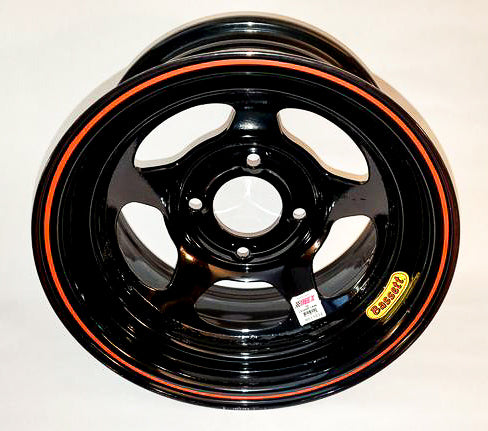 Bassett 13lb Inex Wheel Black - GO Motorsports Shop | Legend Car Parts Store