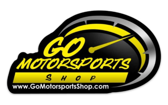 GO Motorsports Shop Die Cut Decal - GO Motorsports Shop | Legend Car Parts Store