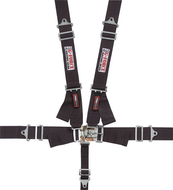 G-Force 5-Point Harness, Latch and Link, Pro Series