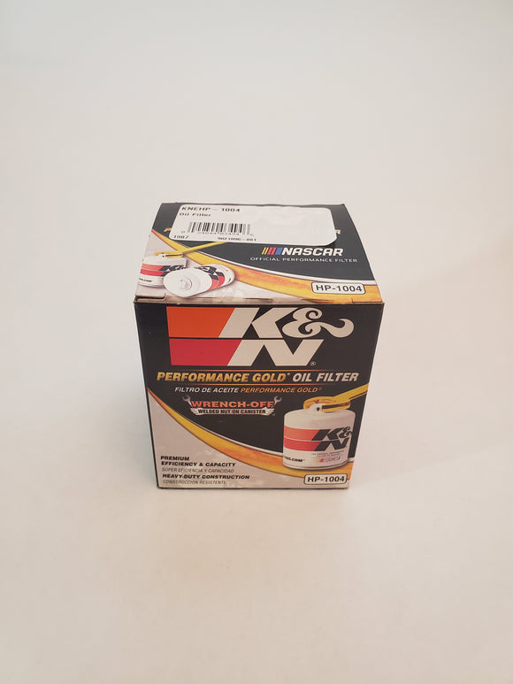K&N HP-1004 Oil Filter - GO Motorsports Shop | Legend Car Parts Store