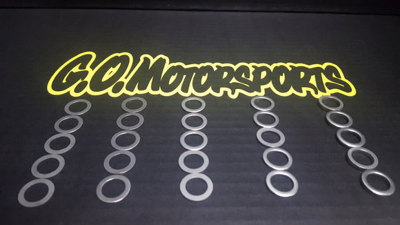 Bump Steer Shim Kit - GO Motorsports Shop | Legend Car Parts Store