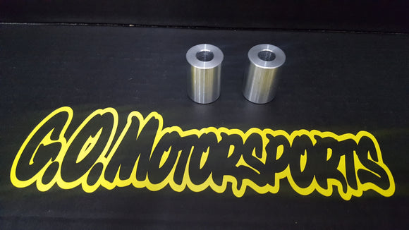 RRC Aluminum Motor Mount Spacer Set - GO Motorsports Shop | Legend Car Parts Store