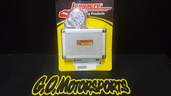 Longacre Durometer w/ Silver Case - GO Motorsports Shop | Legend Car Parts Store