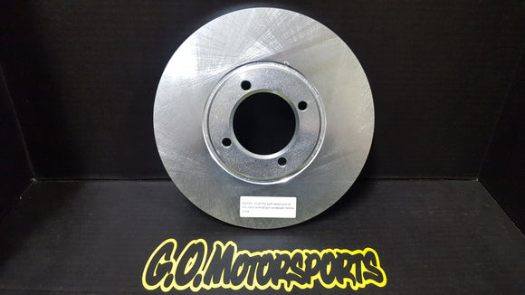 The Brake Man Legend Car Rotor - GO Motorsports Shop | Legend Car Parts Store