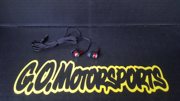 R.E. Racing Electronics | Standard Headphones - GO Motorsports Shop | Legend Car Parts Store