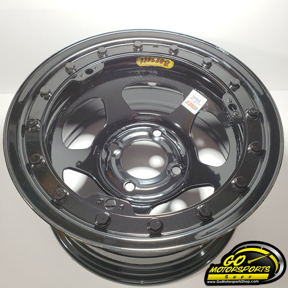 Beadlock Bassett Inex Wheel Black - GO Motorsports Shop | Legend Car Parts Store