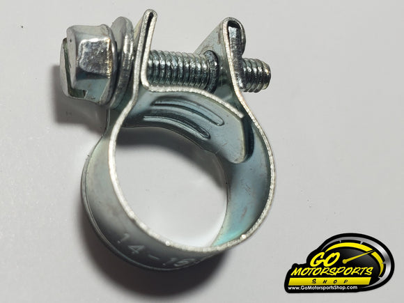 Braided Hose Clamp (Smooth) for FZ09 - GO Motorsports Shop | Legend Car Parts Store