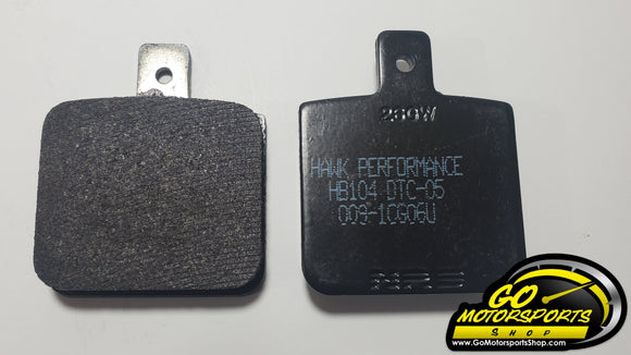 Hawk DTC Brake Pads (Set) | Bandolero - GO Motorsports Shop | Legend Car Parts Store