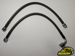 Fluidyne Top End Oil Lines (Pair) - GO Motorsports Shop | Legend Car Parts Store