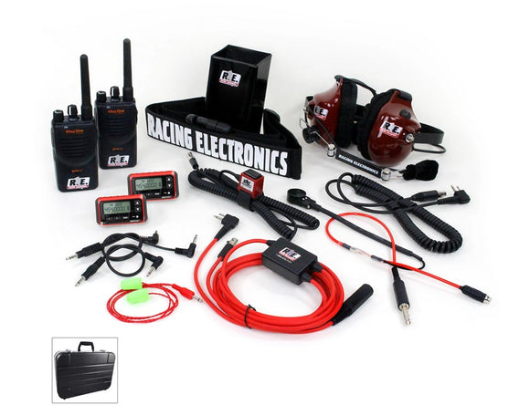 R.E. Racing Electronics | Preferred Upgraded USLCI System - 2-Way Motorola BPR40, MAG1