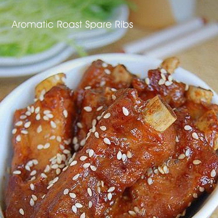 Aromatic Roast Spare Ribs
