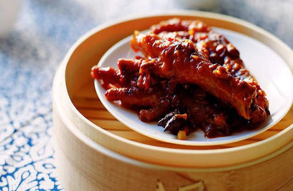 Braised Chicken Feet and Chicken Wings