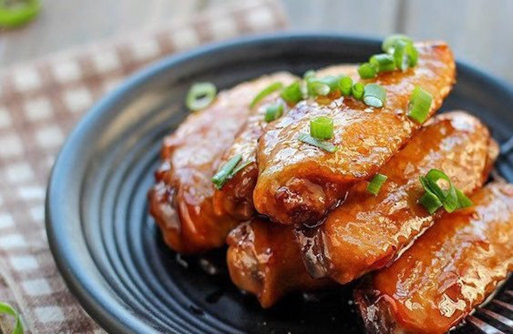 Braised Chicken Wings with Soy Bean Paste