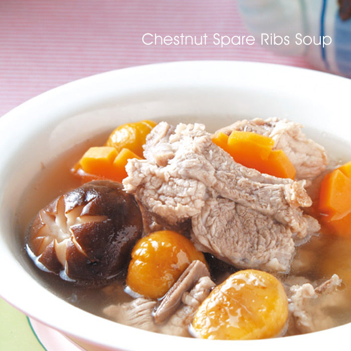 Chestnut Spare Ribs Soup